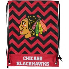Chicago Blackhawks - Chevron Drawstring NHL Vrecko