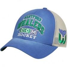Hartford Whalers - CCM Trucker Meshback NHL Čiapka