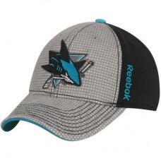 San Jose Sharks - Center Ice Travel & Training Two-Tone NHL Čiapka