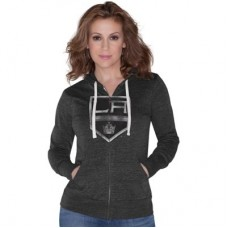 Los Angeles Kings Ženy - Tri-Blend Full Zip NHL Mikina s kapucňou