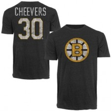 Boston Bruins - Gerry Cheevers Alumni NHL Tričko