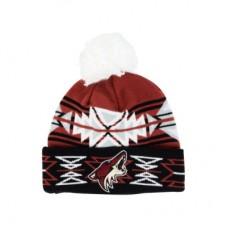 Arizona Coyotes - Geotech Pom LD NHL Knit Zimná čiapka