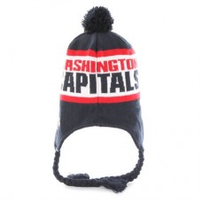 Washington Capitals - Tassle Pom NHL Knit Čiapka