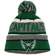 Washington Capitals - St. Patricks Day Duggan NHL Knit Čiapka