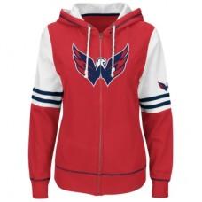 Washington Capitals Dámska - Turnbuckle Fleece Z NHL Mikina s kapucňou