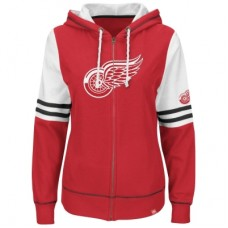 Detroit Red Wings Dámska - Turnbuckle Fleece Z NHL Mikina s kapucňou