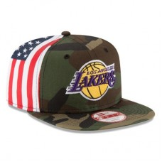 Los Angeles Lakers - Flag Side Original Fit 9FIFTY NBA Čiapka