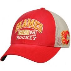 Calgary Flames - CCM Trucker Meshback NHL Čiapka