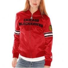Chicago Blackhawks - dámska Starter Blitz NHL Bunda