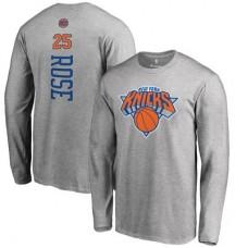 New York Knicks - Derrick Rose Backer NBA Tričko s dlhým rukávom