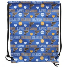 St. Louis Blues - Mural Love Drawstring NHL Vrecko