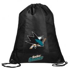 San Jose Sharks - Mesh Pocket Drawstring NHL Vrecko