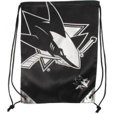 San Jose Sharks - Metallic Drawstring NHL Vrecko