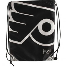 Philadelphia Flyers - Metallic Drawstring NHL Vrecko