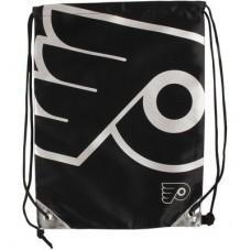 Philadelphia Flyers - Metallic Drawstring NHL Vrecko