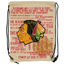 Chicago Blackhawks - Historic Canvas Drawstring NHL Vrecko