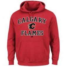 Calgary Flames - Heart & Soul NHL Mikina s kapucňou
