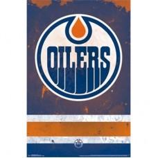 Edmonton Oilers -Team Logo TS NHL Plagát