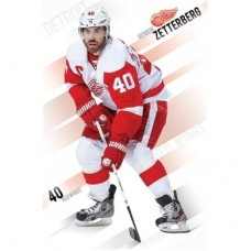 Detroit Red Wings - Henrik Zetterberg TS NHL Plagát