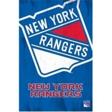 New York Rangers -Team Logo TS NHL Plagát