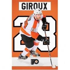 Philadelphia Flyers - Claude Giroux TS NHL Plagát