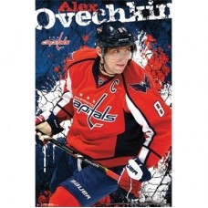 Washington Capitals - Alex Ovechkin TS NHL Plagát