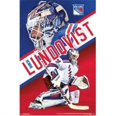 New York Rangers - Henrik Lundqvist TS NHL Plagát