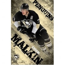 Pittsburgh Penguins - Evgeni Malkin TS NHL Plagát