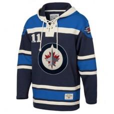 Winnipeg Jets - Lace Up TS NHL Mikina s kapucňou