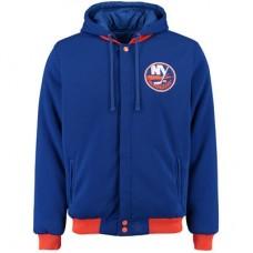 New York Islanders detské - Fleece-Nylon Obojstranná NHL Bunda