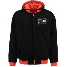 Philadelphia Flyers - Fleece-Nylon Obojstranná NHL Bunda