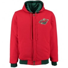 Minnesota Wild - Fleece-Nylon Obojstranná NHL Bunda
