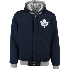 Toronto Maple Leafs - Fleece-Nylon Obojstranná NHL Bunda