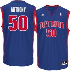 Detroit Pistons - Joel Anthony Replica NBA Dres