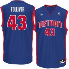 Detroit Pistons - Anthony Tolliver Replica NBA Dres