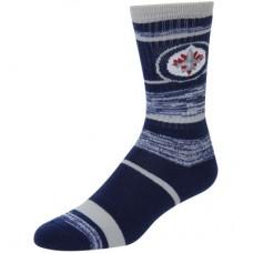 Winnipeg Jets - For Bare Feet Stripe 504 NHL Ponožky