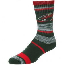 Minnesota Wild - For Bare Feet Stripe 504 NHL Ponožky