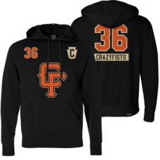 36CF BROCK STREET BULLY - PULLOVER HOCKEY PH Mikina s kapucňou
