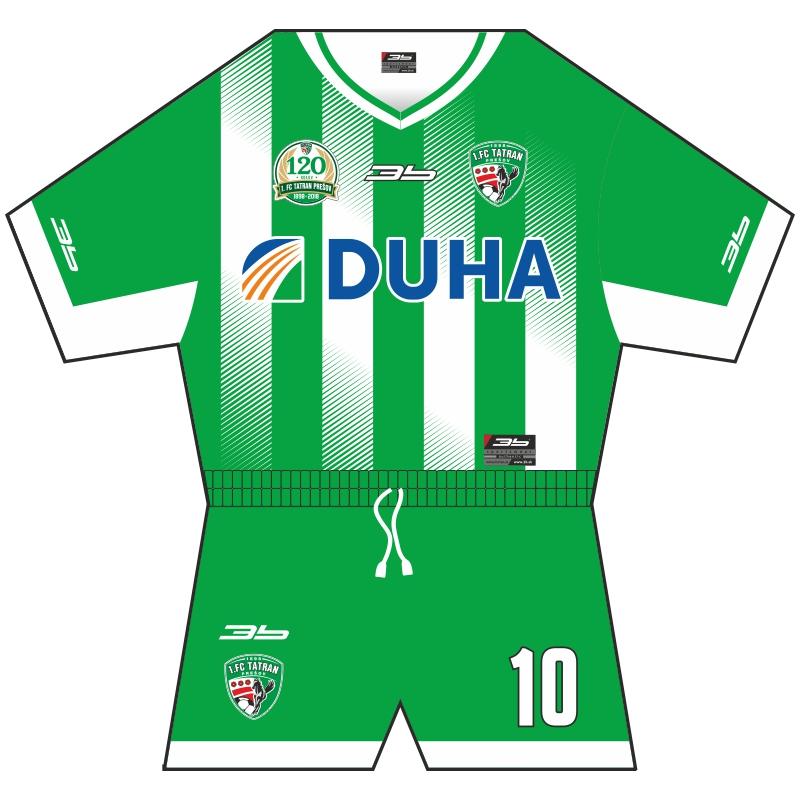 816fea9ae8220 Minidres 1. FC Tatran Prešov 18/19 tmavý   Fanpredmety   1. FC ...