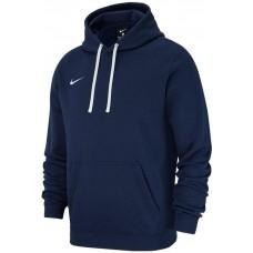 Mikina s kapucňou Nike M HOODIE PO FLC TM CLUB19  - modrá–tmavomodrá