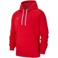 Mikina s kapucňou Nike M HOODIE PO FLC TM CLUB19  - červená