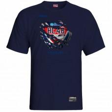 Tričko HC 46 Bardejov 0117 - modrá–tmavomodrá
