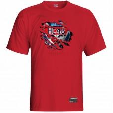 Tričko HC 46 Bardejov 0117 - červená