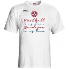 Bavlnené tričko FK Bardejov vz.2 - biela