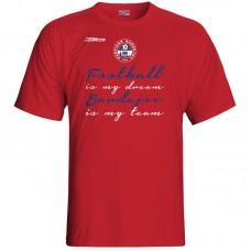 Bavlnené tričko FK Bardejov vz.2 - červená