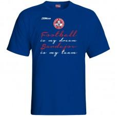 Bavlnené tričko FK Bardejov vz.2 - royal modrá