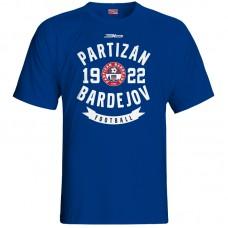 Bavlnené tričko FK Bardejov vz.3 - royal modrá