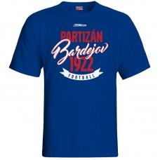 Bavlnené tričko FK Bardejov vz.4 - royal modrá