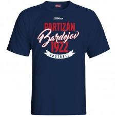 Bavlnené tričko FK Bardejov vz.4 - modrá – tmavomodrá