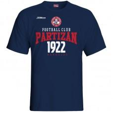 Bavlnené tričko FK Bardejov vz.5 - modrá – tmavomodrá